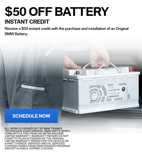 BMW BATTERY - INSTANT CREDIT