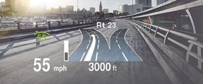Heads up display available in 2018 BMW X1
