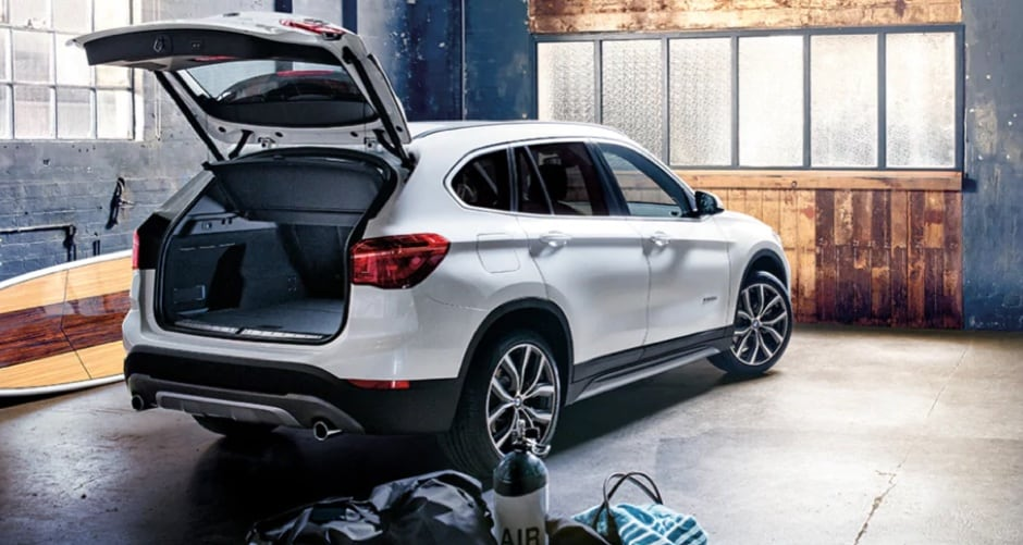 2018 BMW X1 SAV cargo space