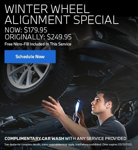 Winter Wheel Alignment Special