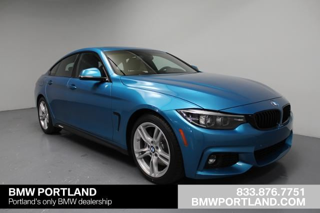 2018 BMW 4 Series Car 430i Gran Coupe