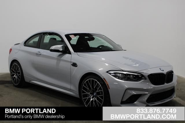 New 2019 BMW M2 Competition Coupe Car Hockenheim Silver