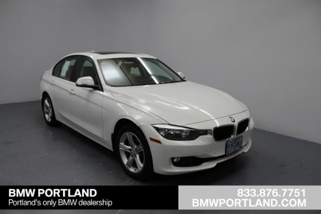 Certified Pre-Owned 2015 BMW 3 Series Car 4dr Sdn 328i Xdrive AWD Sulev Portland, OR