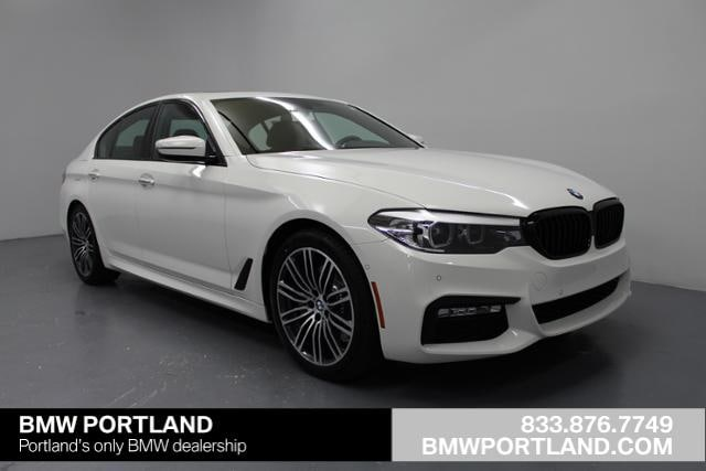 New 2018 BMW 5 Series 530i xDrive Sedan Car Alpine White