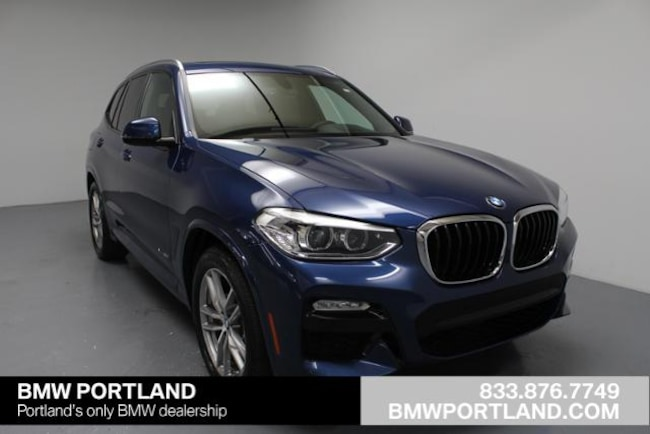 New 2018 BMW X3 xDrive30i SAV Portland, OR