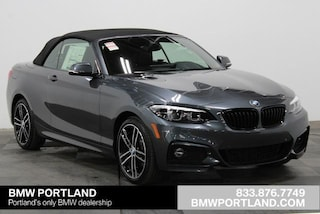 New 2020 BMW 2 Series 230i xDrive Convertible Convertible Portland, OR