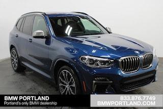 2020 BMW X3 M40i Sports Activity Vehicle Sport Utility