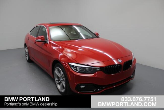 Used 2019 BMW 4 Series Car 430i Xdrive Gran Coupe Portland, OR