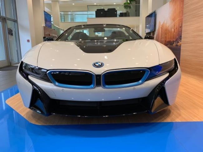 New 2019 Bmw I8 Roadster Convertible Crystal White Pearl