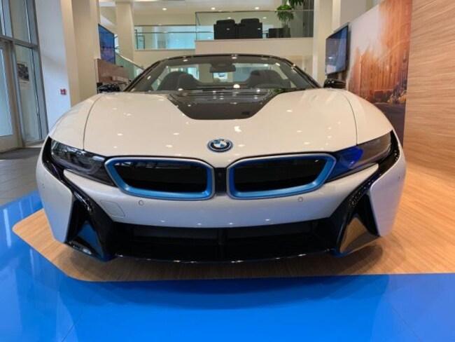 New 2019 Bmw I8 Roadster Convertible Crystal White Pearl Metallic W
