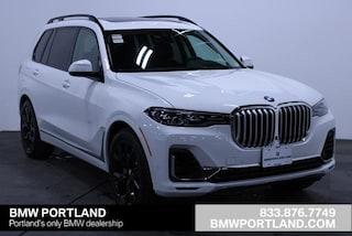 New 2020 BMW X7 xDrive40i SAV Portland, OR