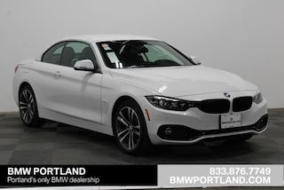 New 2020 BMW 4 Series 430i xDrive Convertible Convertible Portland, OR
