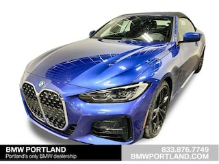 New 2021 BMW 430i Convertible Portland, OR