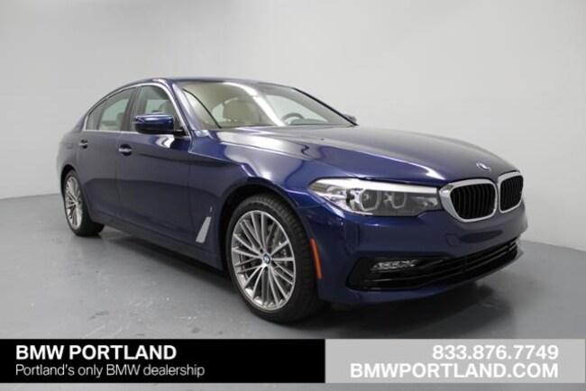 New 2018 BMW 5 Series 530e Iperformance Plug-In Hybrid Car Portland, OR