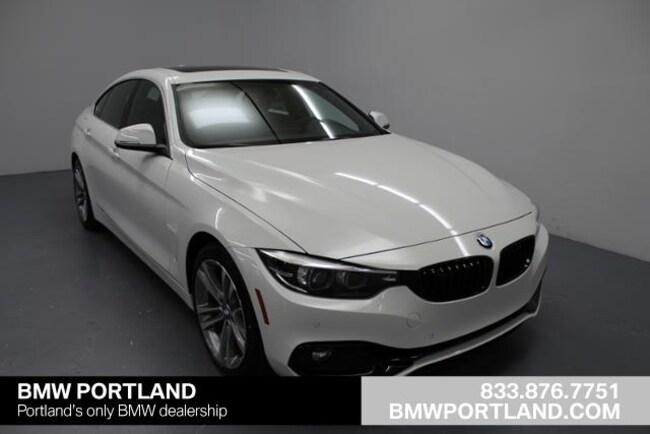 Used 2019 BMW 4 Series Car 430i Gran Coupe Portland, OR