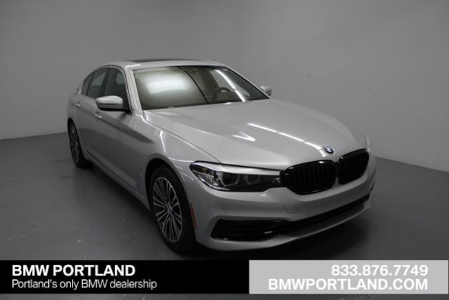 New 2019 BMW 5 Series 530e Iperformance Plug-In Hybrid Car Portland, OR