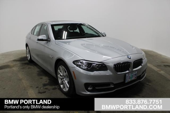 Certified Pre-Owned 2016 BMW 5 Series Car 4dr Sdn 535i Xdrive AWD Portland, OR