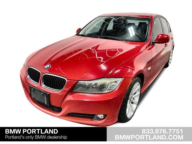 Pre Owned 2011 Bmw 328i Sedan Crimson Red For Sale In Portland Or Stock Ba445005