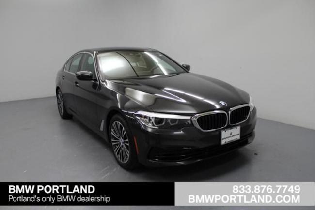 New 2019 BMW 5 Series 530e Xdrive Iperformance Plug-In Hy Car Portland, OR
