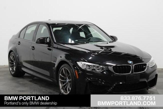 Used 2016 BMW M3 Car 4dr Sdn Portland, OR