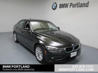 Certified Pre-Owned 2017 BMW 3 Series Car 320i xDrive Sedan Portland, OR