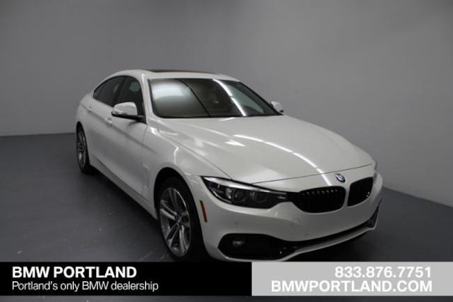 Certified Pre-Owned 2019 BMW 4 Series Car 430i Xdrive Gran Coupe Portland, OR