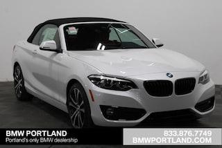 New 2020 BMW 2 Series 230i xDrive Convertible Convertible Portland, OR