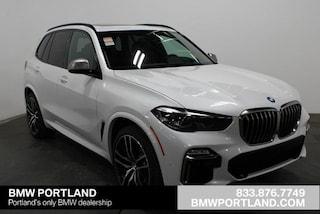 New 2020 BMW X5 M50i Sports Activity Vehicle Sport Utility Portland, OR