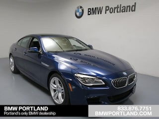 Certified Pre-Owned 2017 BMW 640i Gran Coupe xDrive Portland, OR