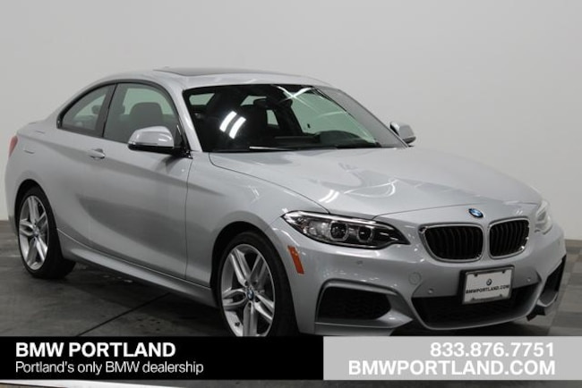 Certified Pre-Owned 2016 BMW 2 Series Car 2dr Cpe 228i xDrive AWD Portland, OR
