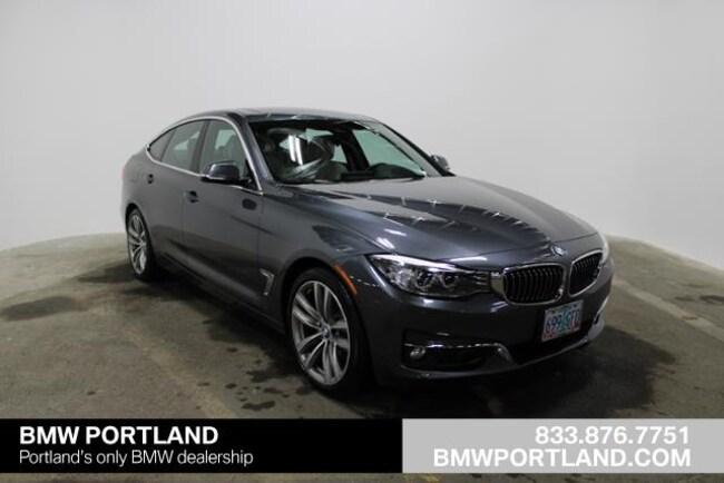 Certified Pre-Owned 2016 BMW 3 Series Gran Turismo Car 5dr 328i Xdrive Gran Turismo AWD SU Portland, OR