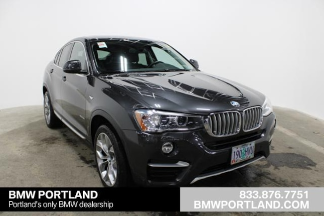 Certified Pre-Owned 2016 BMW X4 Sport Utility AWD 4dr Xdrive28i Portland, OR
