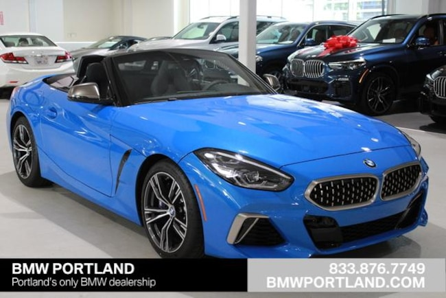 New 2020 Bmw Z4 M40i Roadster Convertible Misano Blue Metallic