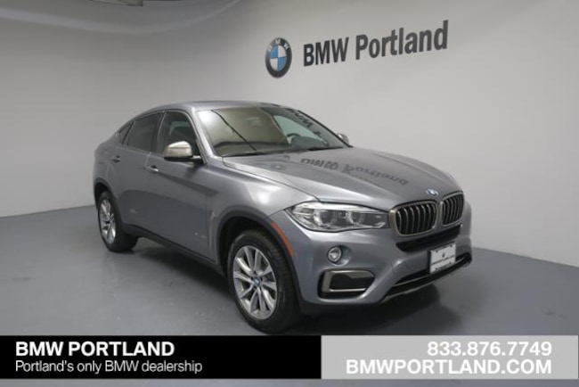New 2018 BMW X6 Xdrive35i Sports Activity Coupe Sport Utility Portland, OR