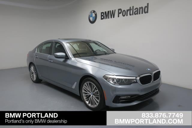2018 BMW 5 Series 540i Sedan Car