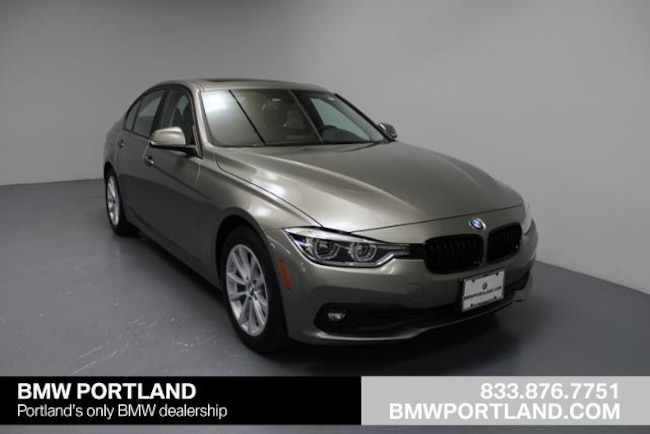Used 2018 BMW 3 Series Car 320i Xdrive Sedan Portland, OR
