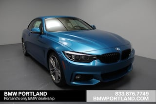 New 2018 BMW 430i Convertible Portland, OR