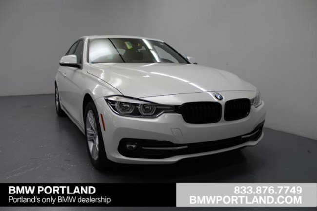 New 2018 BMW 3 Series 328d Sedan Car Portland, OR