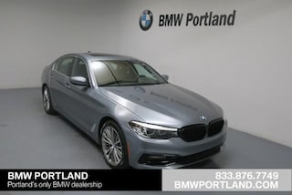 New 2018 BMW 5 Series 530e Iperformance Plug-In Hybrid Car Portland, OR