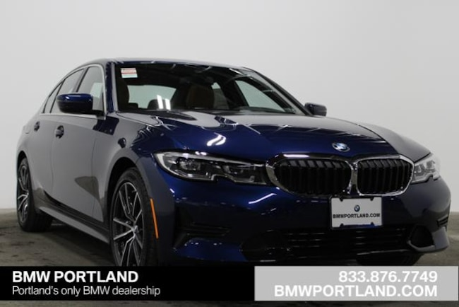New 2019 Bmw 3 Series 330i Sedan Car Mediterranean Blue Metallic