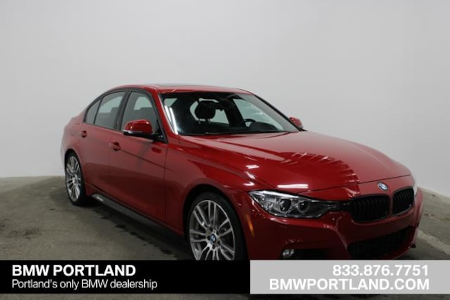 Certified Pre-Owned 2015 BMW 3 Series Car 4dr Sdn 335i RWD Portland, OR
