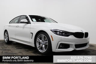 New 2019 BMW 4 Series 440i Gran Coupe Car Portland, OR