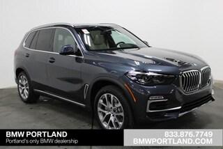 New 2020 BMW X5 xDrive40i Sports Activity Vehicle Sport Utility Portland, OR