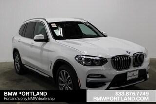 New 2019 BMW X3 xDrive30i Sports Activity Vehicle Sport Utility Portland, OR