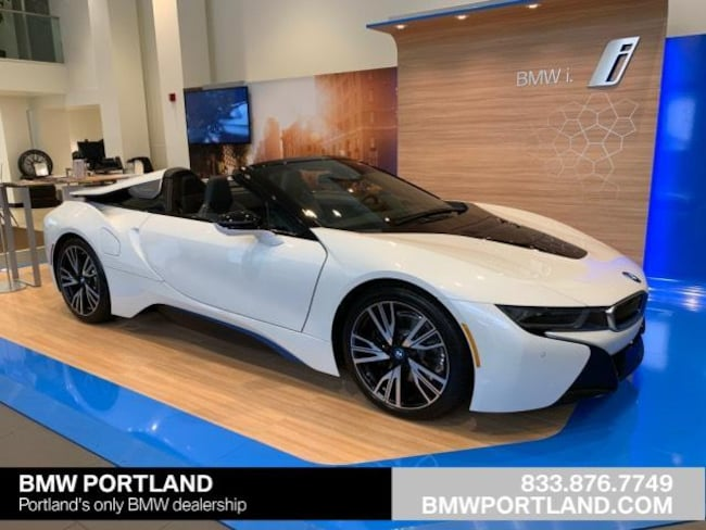 New 2019 Bmw I8 Roadster Convertible Crystal White Pearl Metallic W