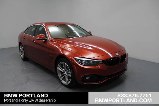 Pre Owned 2019 Bmw 4 Series 430i Xdrive Gran Coupe Car Sunset