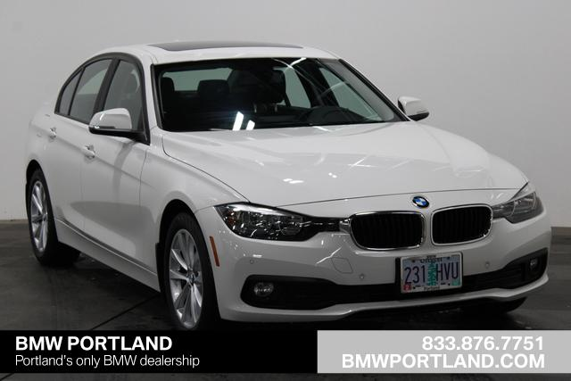Certified Pre-Owned 2016 BMW 3 Series Car Alpine White For