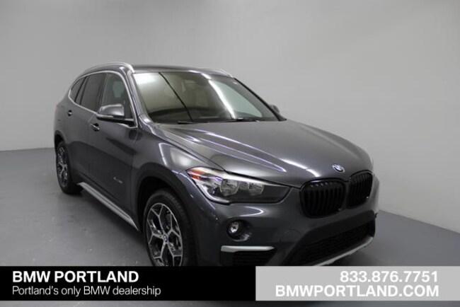 Used 2018 BMW X1 Sport Utility xDrive28i Sports Activity Vehicle Portland, OR