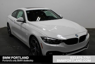 Used 2020 BMW 4 Series Car 430i xDrive Coupe in Portland, OR