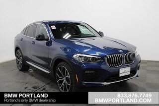 New 2020 BMW X4 xDrive30i Sports Activity Coupe Sport Utility Portland, OR